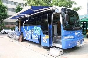 [건강증진팀] 노원구 이동건강버스 출동
